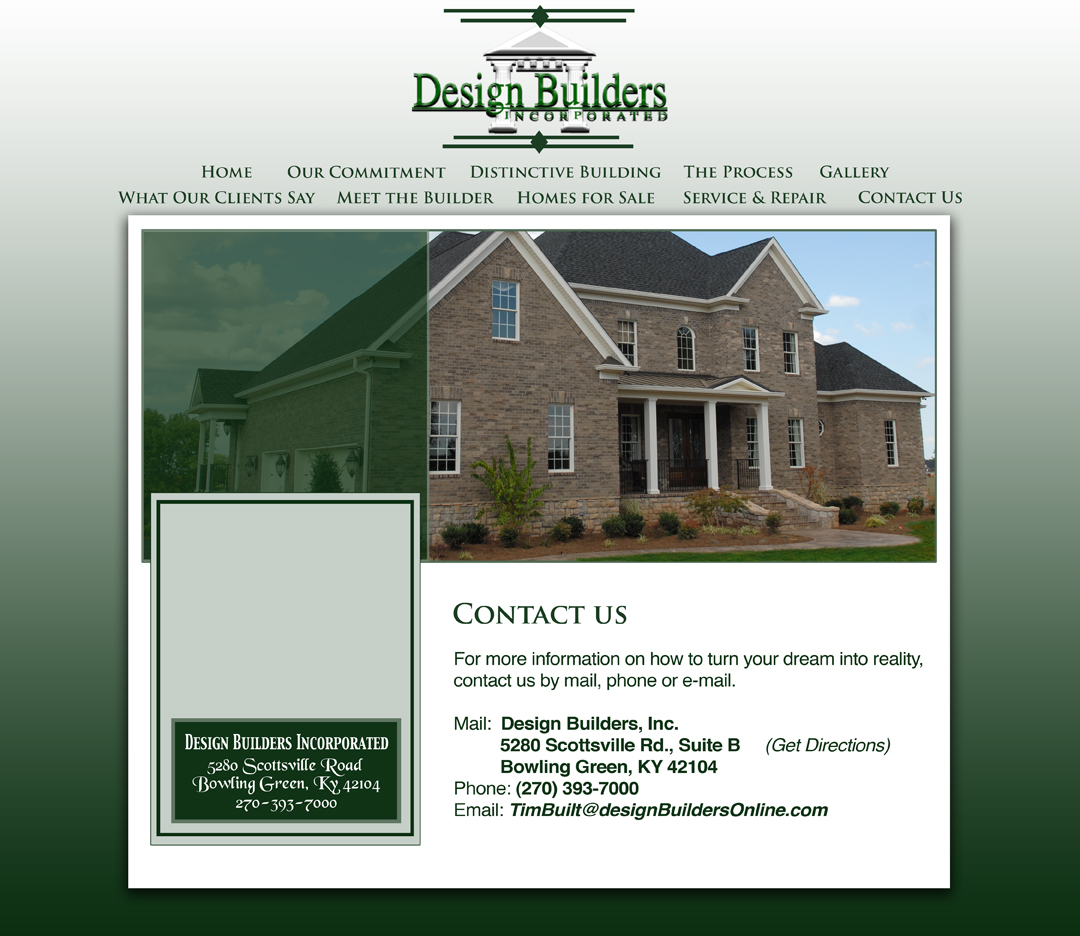 Design Builders Inc Bowling Green Ky Design Builders